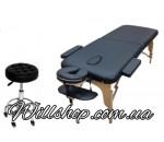 АКЦИЯ!!!Двухсекционный деревянный складной стол ASPECT NEW TEC+ стул мастера