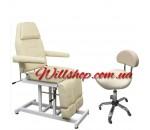 АКЦИЯ !!!!!Кресло кушетка для педикюра модель 246 Т+ стул мастера